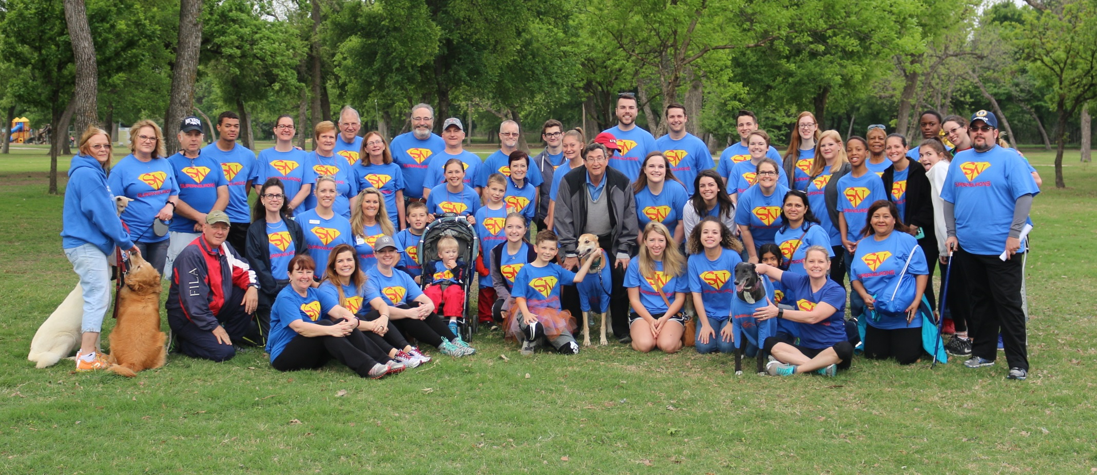 kane Hall Barry Neurology at the 2017 Ft Worth MS Walk